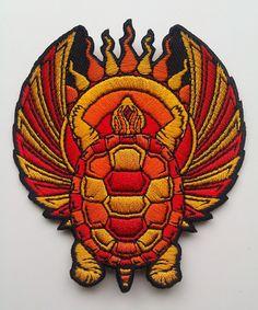 Grateful Dead embroidered patch - Terrapin Station - original artwork