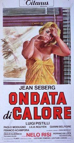 Ondata di calore (N. Risi, 1970) Week-end solitario, in Africa, della moglie di un ingegnere. Fa caldo, l'atmosfera è opprimente; la donna giunge a tentare il suicidio. La verità si fa strada.