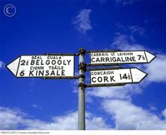 Sign post to Carrigaline