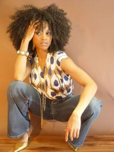 Super cool #curly #kinky hair! Loved By NenoNatural!
