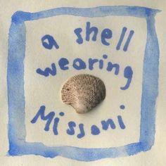 A shell wearing Missoni #illustration #watercolour #missoni #shell  http://dettapini.blogspot.it/2012/08/a-shell-wearing-missoni.html