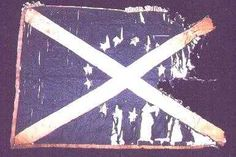 Battle Flag of Hilliard's Legion Civil War 1863. Battle at Chickamauga. My GGGgf unit when he enlisted in 1862