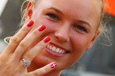 Denmark nails #nails #olympics
