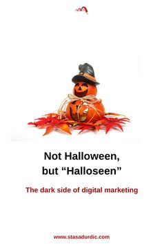 The dark side of #digitalmarketing doesn't include #treats. There are only #tricks on the menu. #halloween #marketing #toxicclients #vampiremarketing