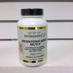 Capsulas Desintoxicador Multi, es recomendable empezar un programa dietético con una limpieza y desintoxicación del cuerpo antes de comenzar su meta de pérdida de peso.