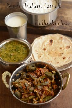 South indian lunch planner 2 tamil lunch recipes pinterest a simple comforting healthy and balanced north indian meal forumfinder Image collections