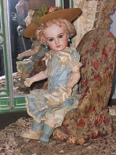 ~~~ Pretty French Small Emile Jumeau Bisque Bebe ~~~  #unitedsellers