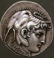 I believe this is Alexander the Great Alexandre Le Grand, Coin Art, Gold And Silver Coins, Antique Coins, Alexander The Great, Greek Art, Ancient Jewelry, Rare Coins, Ancient Civilizations