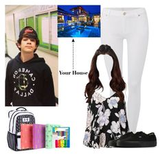 """Hayes Imagine #1 Part 1"" by grace-food-lover ❤ liked on Polyvore featuring 7 For All Mankind, Ally Fashion, Vans, Under Armour, Paper Mate and Paperchase"