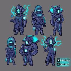 Destiny Age of Triump Vault of Glass Armor Sets by KevinRaganit.deviantart.com on @DeviantArt
