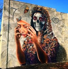 Sugar skull #graffiti
