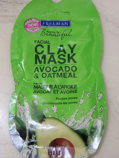 Slashed Beauty | REVIEW: Freeman Avocado and Oatmeal Facial Clay Mask