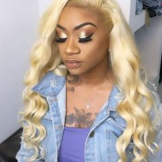 Human Hair Size: Medium Size Method: machine weft at hand-tied front Be Permed: Yes color of Lace: Medium Brown Best Lace Front Wigs, Cheap Lace Front Wigs, Blonde Lace Front Wigs, Blonde Wig, Blonde Color, Hairstyles For Round Faces, Weave Hairstyles, Cool Hairstyles, Lob Hair Round Face