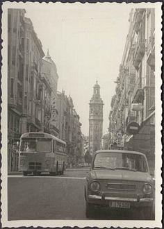 Calle de la Paz Valencia City, Alicante, Where To Go, Old Photos, Trip Planning, Alaska, Barcelona, Spain, Street View