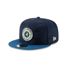 49b97132fd6dd Minnesota timberwolves 2018 nba authentics  tip off series two-tone 9fifty  snapback
