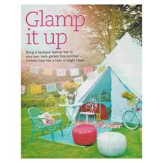 Sunday Express Magazine. Floral Fiesta Mexicana Bunting for fun colourful decoration  and glamorous camping! #glamping