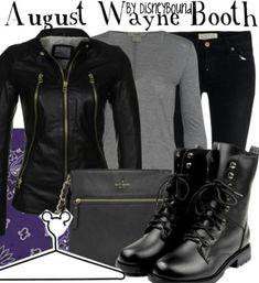Once Upon A Time's August Wayne Booth Inspired Outfit