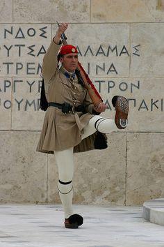 Greek Guard, Athens, Greece