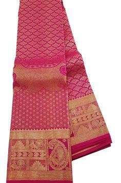 Cessories shopping centre luxurion world Pink Saree Silk, Crepe Silk Sarees, Wedding Silk Saree, Pure Silk Sarees, Kanjipuram Saree, Handloom Saree, Sari, Cotton Saree Blouse Designs, Wedding Saree Blouse Designs