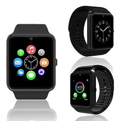 Indigi 2in1 Stylish GSM Wireless Watch w Bluetooth 30 Camera Unlocked ATT TMobile w Fitness Tracker >>> Be sure to check out this awesome product affiliate link Amazon.com