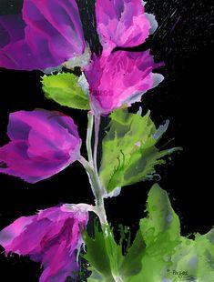 Violet stalk