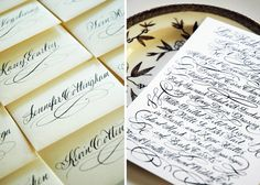 Oh So Beautiful Paper: Calligraphy Inspiration: Allison R. Banks Designs