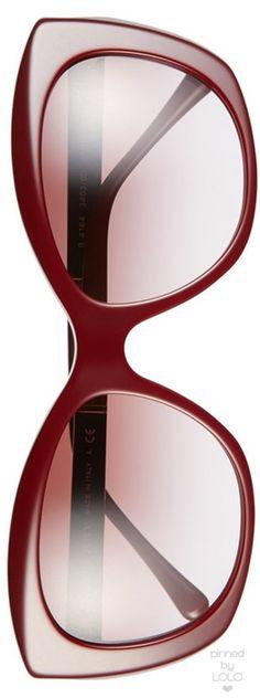 Burberry 55mm Sunglasses shown in Wine | LOLO❤︎