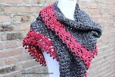 Ravelry: Touch of Velvet Wrap pattern by Esther Dijkstra