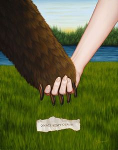 "Isabel Samaras ""Love Conquers All""  2009  Painting Oil on Wood    14 x 11 inches"