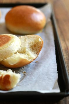 Step-by-step tutorial on how to make delicious & fluffy light brioche hamburger buns. You'll never buy them from the store again!