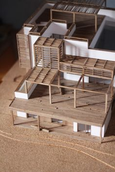 Timber frame building model paradigm  | Foot Work︱ 走思客設計圖誌