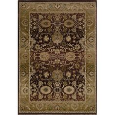 """The Conestoga Trading Co. Gala Purple/Gold Area Rug Rug Size: Runner 2'3"""" x 7'6"""""""