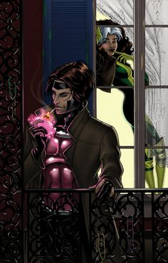 Gambit and Rogue