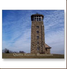 Quabbin Reservoir Tower...I took the 2.5 trek up to this point last week, hoping to do it again several times through the summer time!