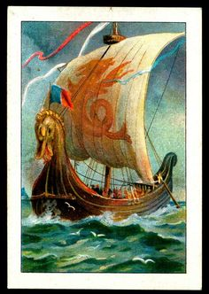 Anglo-Saxon Longship. It is great to know the Anglo-Saxons shared the love of my Viking ancestors for longships.  William the Conquerer descendent of Vikings invaded England in 1066 in a fleet of longships!