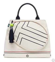 Tory Sport Canvas Tennis Tote