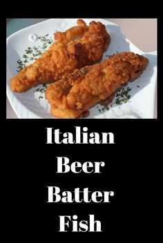 Italian fried beer batter fish is perfectly crisp everytime. The beer in the batter makes it the best fried fish ever! via Whats Cookin Italian Style Cuisine Easy Cooking, Cooking Recipes, Fastfood Recipes, Cooking Fish, Cooking Kale, Cooking Salmon, Cooking Turkey, Fast Dinners, Easy Meals