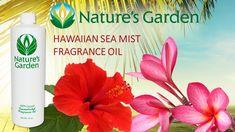 Hawaiian Sea Mist Fragrance Oil- Natures Garden #tropicalscents #islandfragrance #scentsforcandles