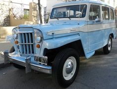 IKA Estanciera 1963. Fue única mano y fue restaurada 100% original.  http://www.arcar.org/autosantiguos.aspx?qmo=estanciera