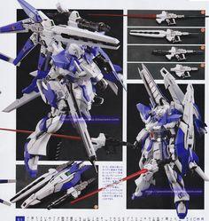 GUNDAM GUY: 1/144 RX-93-v2 Hi-Nu Gundam Vrabe Amazing - Custom Build [Updated 12/4/14]