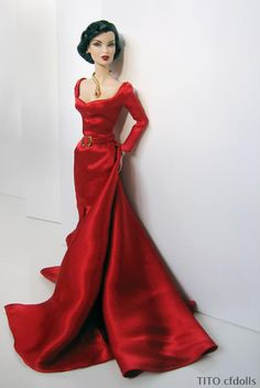 images about Barbie - Purple and Red Evening Gowns on . Barbie Gowns, Barbie Dress, Barbie Clothes, Beautiful Barbie Dolls, Pretty Dolls, Fashion Royalty Dolls, Fashion Dolls, Glamour, Beanie Babies