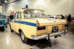Russian Moskvitch - Police car