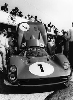 Ferrari 330 P3 co-driven by John Surtees and Mike Parkes at the 1000Km of Nurburgring 1966