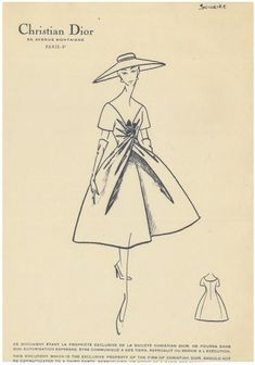 Discover recipes, home ideas, style inspiration and other ideas to try. Christian Lacroix, Christian Dior Couture, Christian Dior Vintage, Vintage Fashion 1950s, Vintage Dior, Mode Vintage, Vintage Gypsy, Vintage Hats, Victorian Fashion