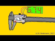 Digital Readout DRO with digital caliper gauge (german) Arduino, Bluetooth, Outdoor Power Equipment, Tech, Tours, Digital, Youtube, Bricolage, Latex Dress
