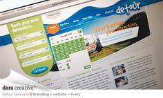 Detour 3 Website Graphic Design