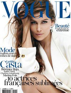 Laetitia Casta / Vogue Paris 2012