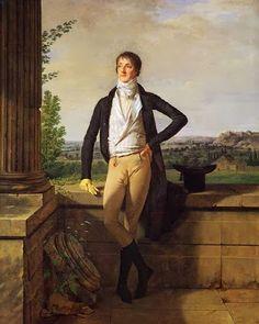 Martin Drolling (1752-1817) - Charles Barthélémy, Comte de Dreux-Nancré, 1797.
