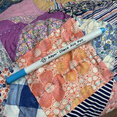Blue Pens | KatyQuilts