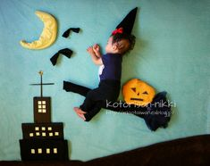 sleeping baby the good witch
